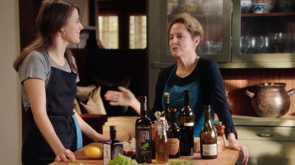 Alice waters teaching cooking
