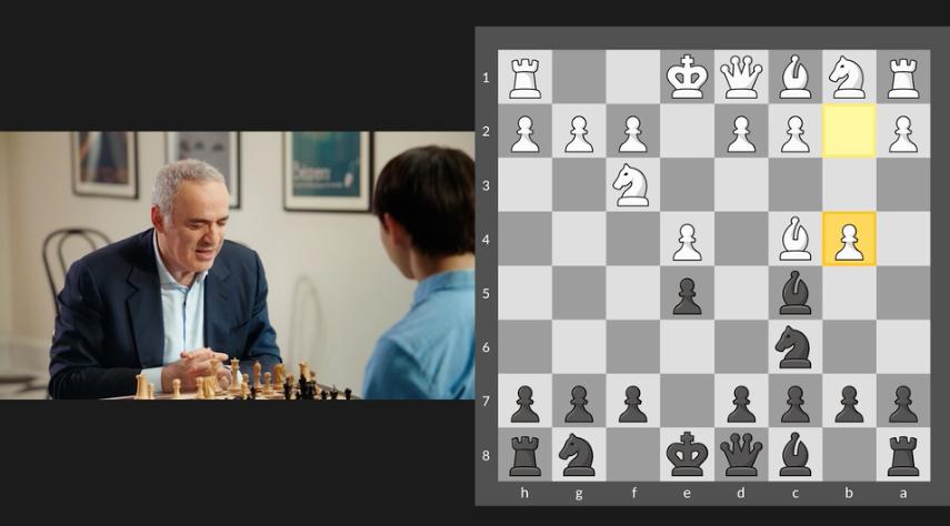 Kasparov vs student