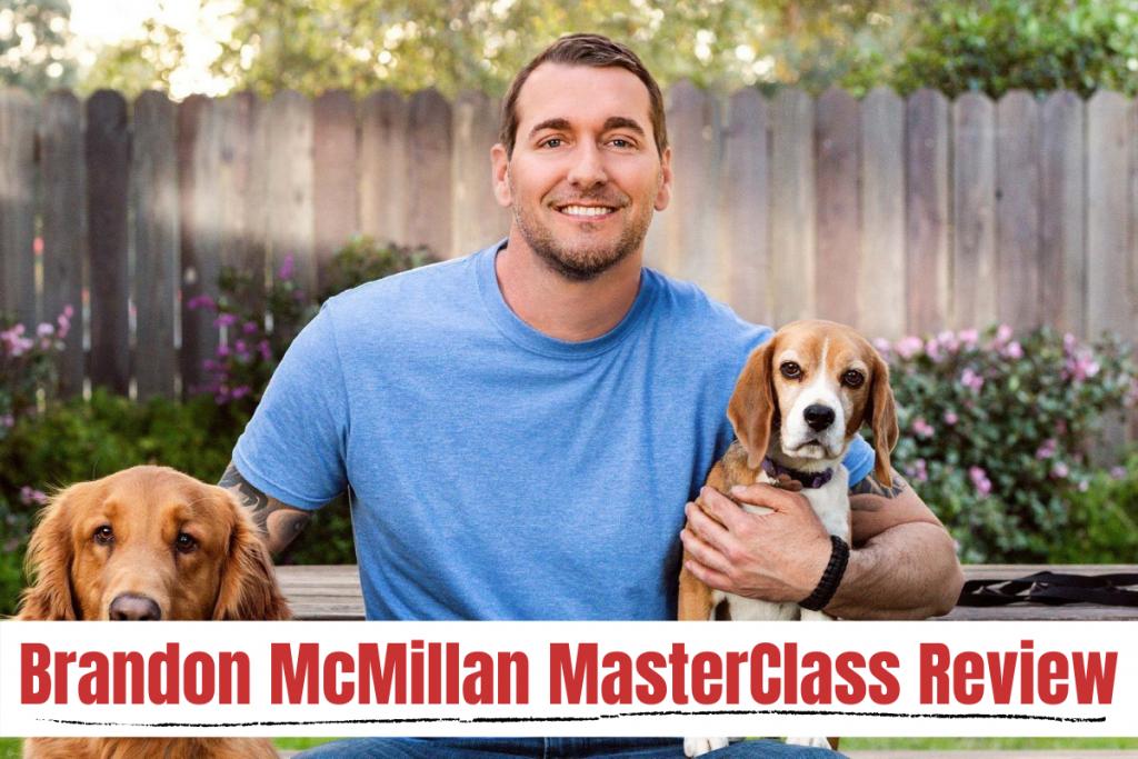Brandon McMillan teaches dog training masterclass